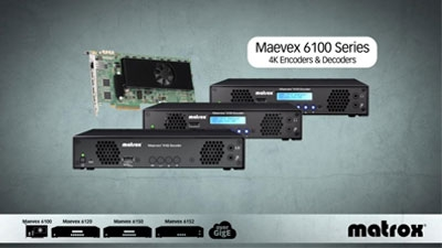 Maevex 6100 Series – Encoders & Decoders for Streaming and Recording