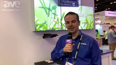 Matrox shows Mura IPX Series at Infocomm 2019