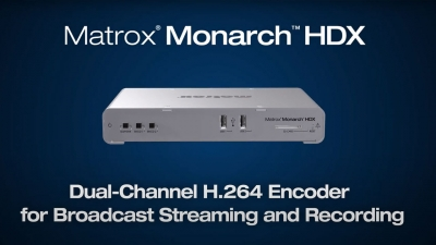 Mornarch HDX All Streaming Recording Needs Video