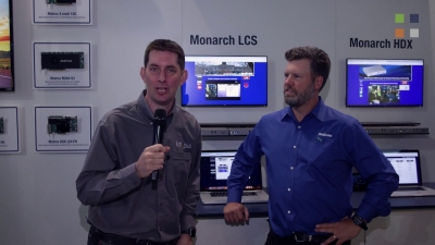 Monarch LCS at IBC: Live Webcasting Made Simple