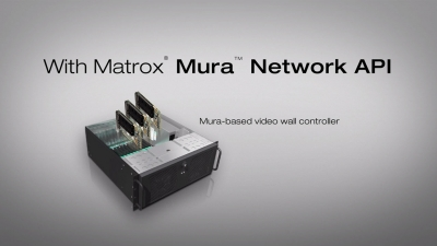 Add Eye-Catching Effects to Your Video Wall with Matrox Mura Network API