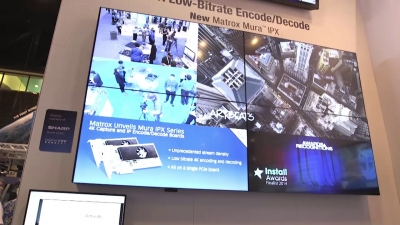 InfoComm 2015: Matrox Mura IPX 4K Capture and IP Encode/Decode Boards Unveiled