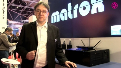ISE 2014: Matrox Mura & Maevex Demonstrated for InAVate.TV
