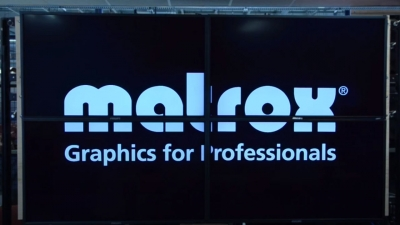 Video Wall Presentation Effects with Matrox Mura MPX