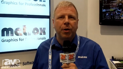 InfoComm 2014: Matrox Mura Showcased for rAVe Publications
