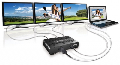 How to Connect TripleHead2Go Digital SE with Notebook PCs