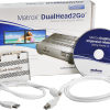 Matrox DualHead2Go Digital ME comes with one 3-foot USB cable, one Mini DisplayPort to DisplayPort input cable, and a Getting Started CD