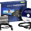 "Matrox DualHead2Go Digital SE comes with one 3-foot USB cable, one DisplayPort to DisplayPort input cable, and a ""Getting Started"" CD"