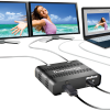 Add up to two monitors to your computer with Matrox DualHead2Go Digital SE.