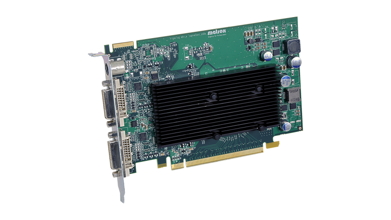 Matrox Graphics - Products - Graphics Cards - M-Series - M9120 PCIe x16