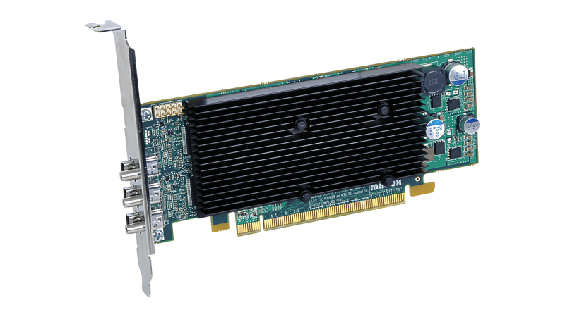 Matrox M-Series M9138 LP PCIex16 Triple Graphics Card