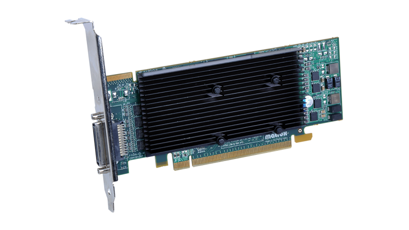 Matrox M9140 LP PCIe x16 Quad Graphics Card