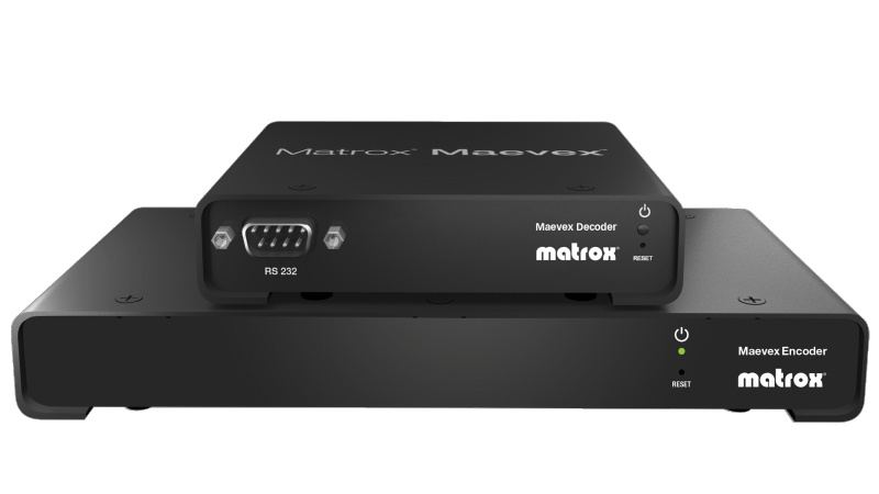 Matrox Maevex 5100 Series Encoder and Decoder Appliances