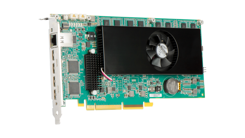 Maevex 6100 Quad 4K Encoder Card