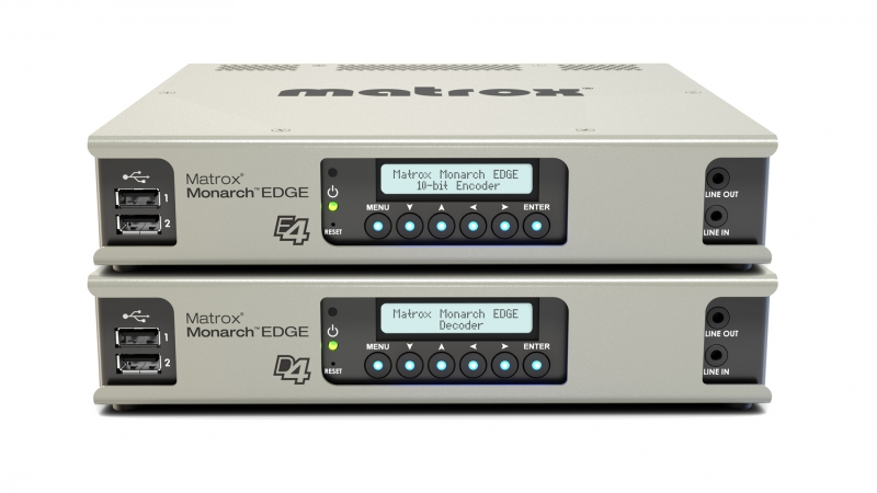 Monarch EDGE encoder and decoder