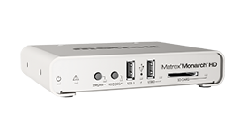 Matrox Monarch HD Video Streaming and Recording Appliance