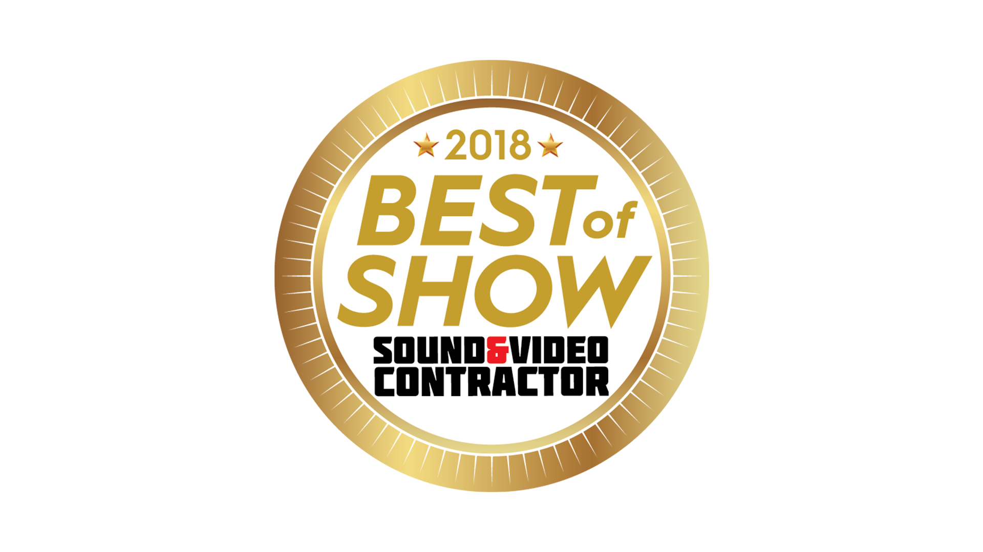 2018 Best of Show - Sound & Video Contractor