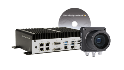 Matrox will feature the 4Sight GPm, Iris GTR smart camera, and the latest version of Matrox Design Assistant