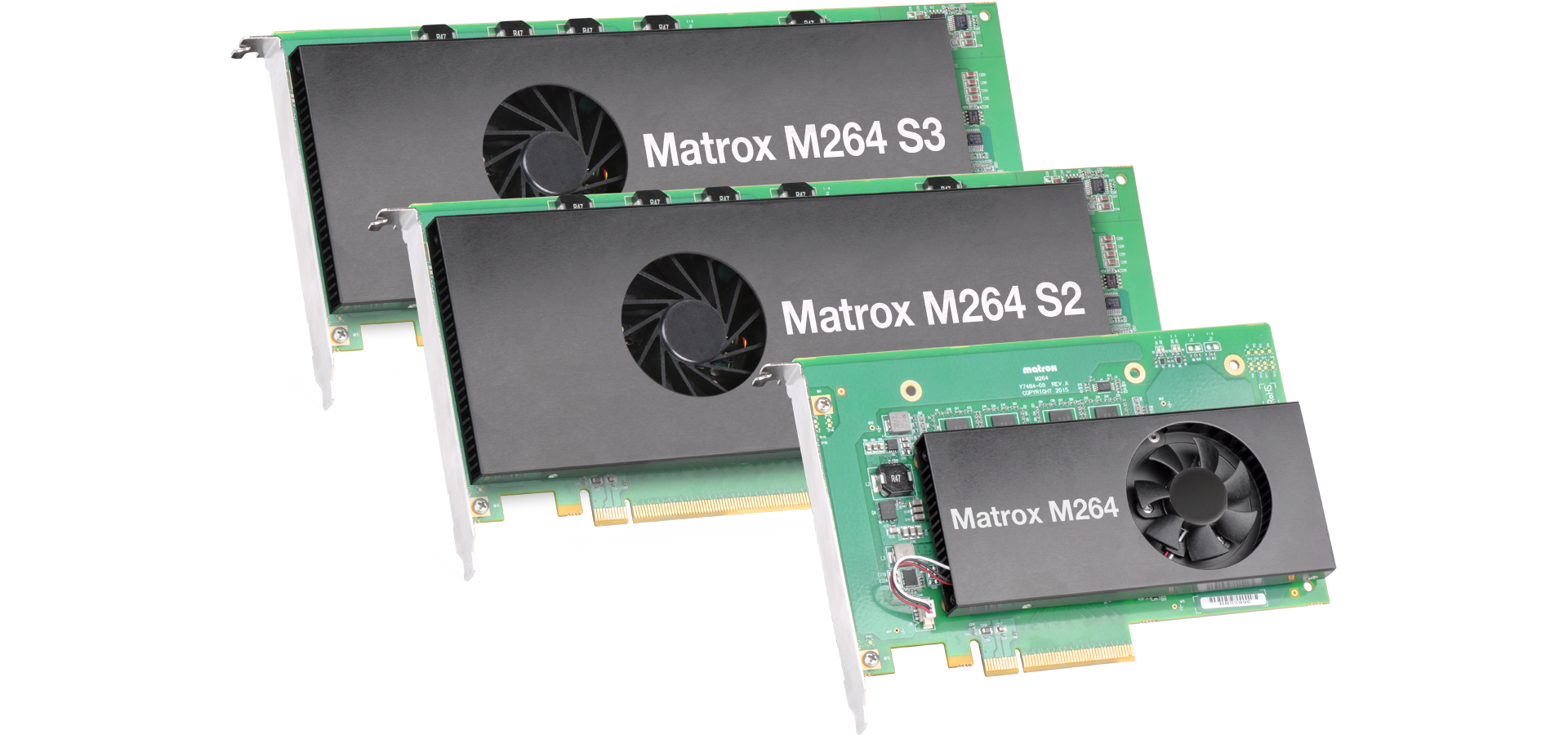 The Matrox M264 Family