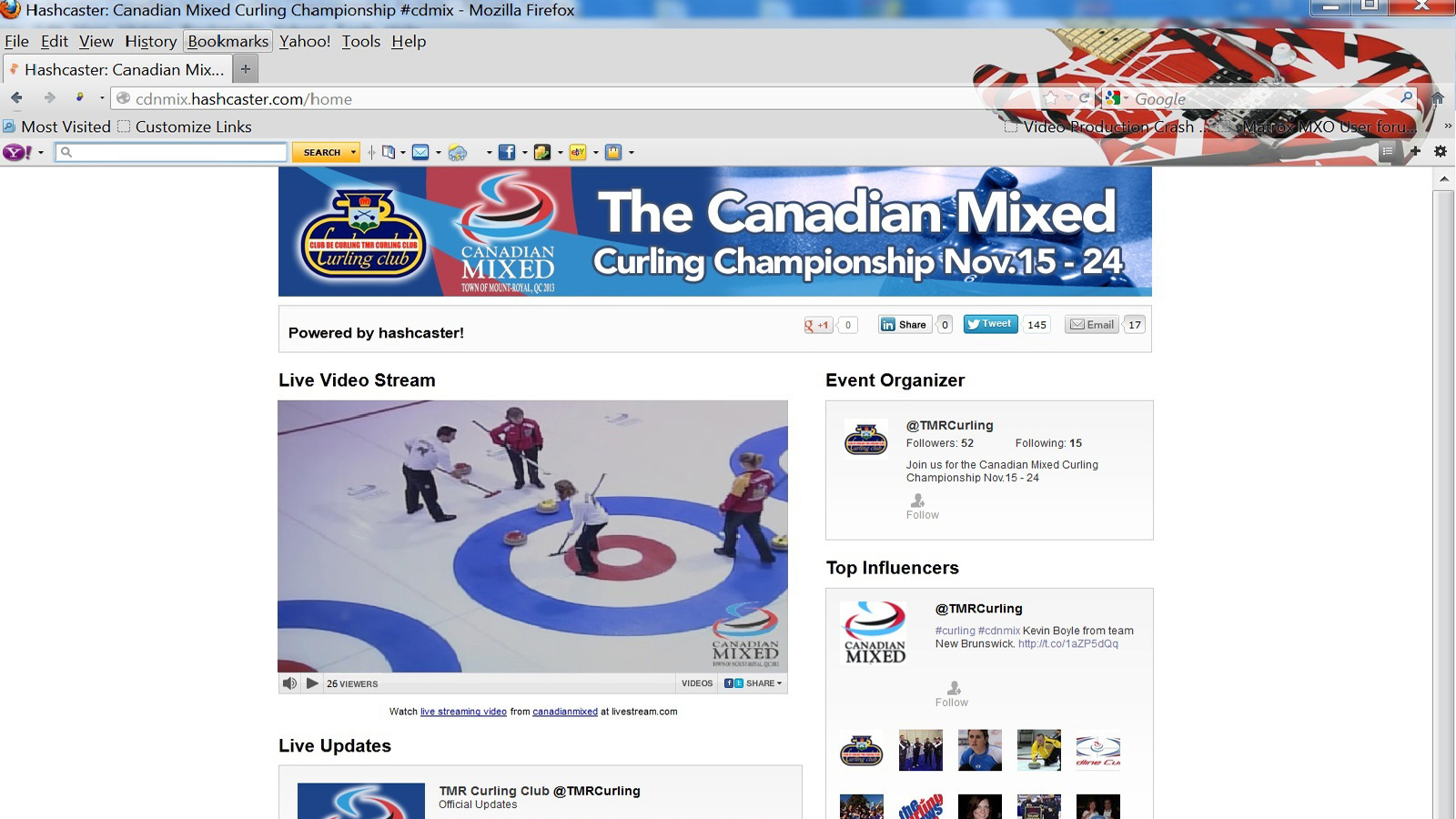 The Canadian Mixed Curling Championship