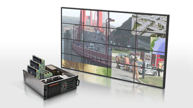 Trenton TVC3400, TVC4400 and TVC4403 Systems Validated With Matrox Mura MPX Display Wall Controller Boards