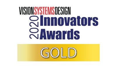 Vision Systems Design 2020 gold award