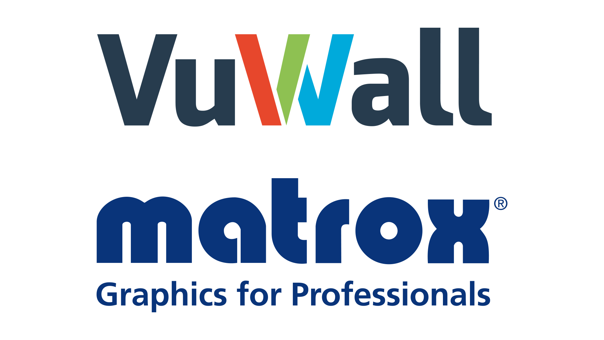 VuWall and Matrox graphics for professionals highest-density video wall platform