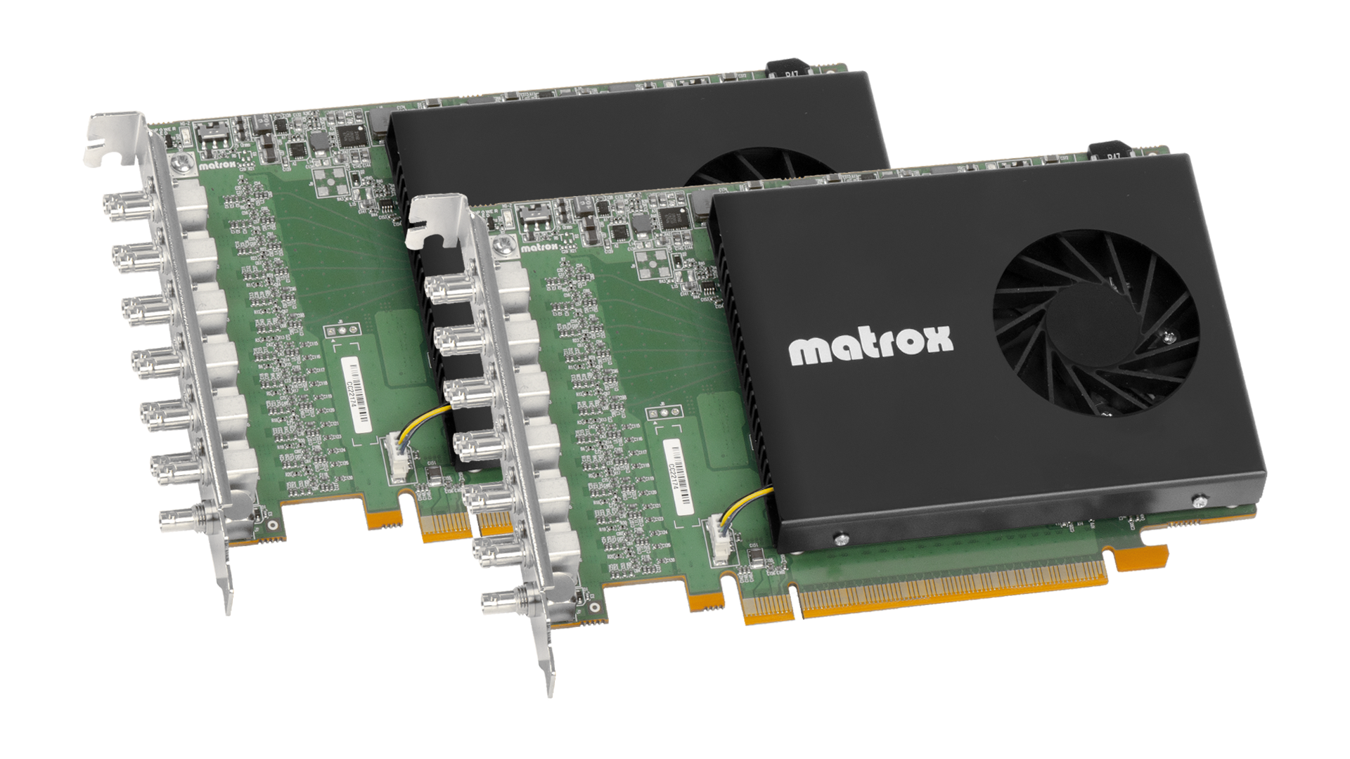 Matrox X.mio5 12G and Matrox DSX LE5 12G SDI I/O Cards