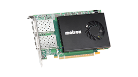 The X.mio Q25 ST 2110 Network Interface Card