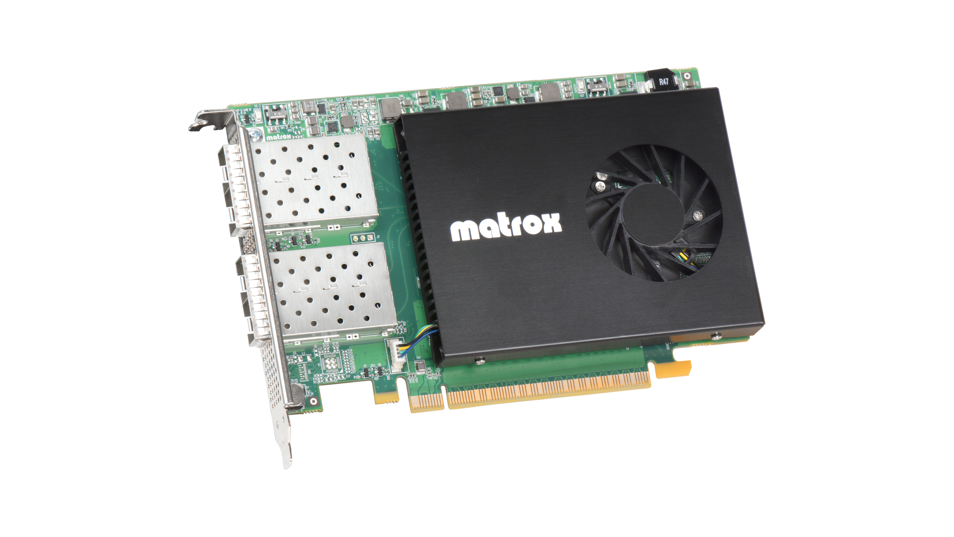 Matrox X.mio5 Q25 ST 2110 NIC Card with Hardware Processing